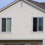 Siding Damaged By Hail