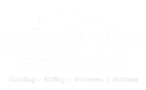 Ridge Top Exteriors Milwaukee Logo White
