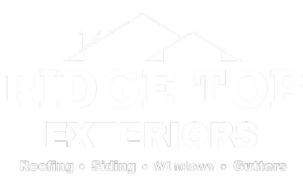 Ridge Top Exteriors Milwaukee Logo White