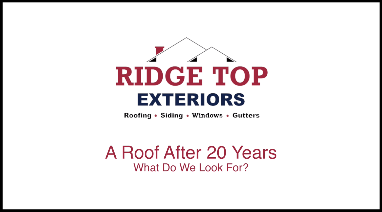 A Roof After 20 Years Thumbnail