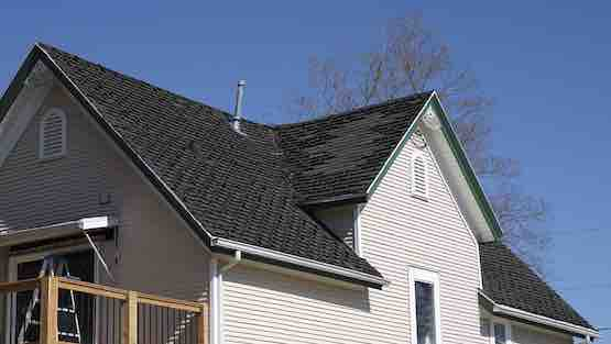 Before a new roof